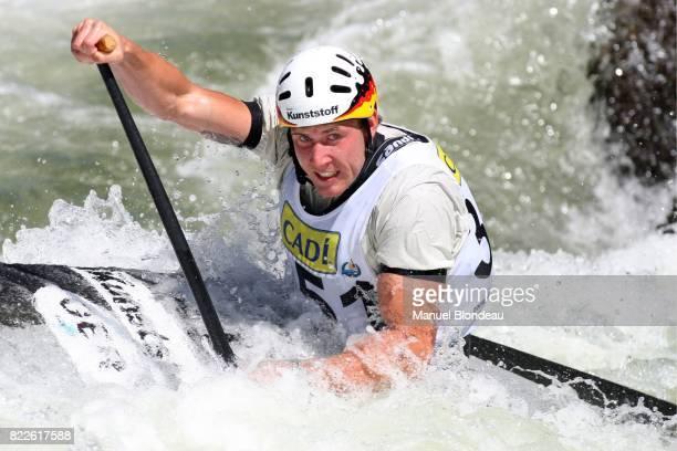 Lukas HOFFMANN C1 Qualification Canoe Kayak Slalom Championnat du Monde 2009 La Seu d Urgell Espagne 11/09/09