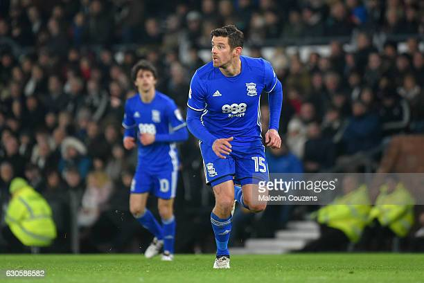 Lukas Jutkiewicz of Birmingham City during the Sky Bet Championship match between Derby County and Birmingham City at iPro Stadium on December 27...