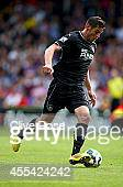 Lukas Jutkiewicz of Burnley in action during the Barclays Premier League match between Crystal Palace and Burnley at Selhurst Park on September 13...