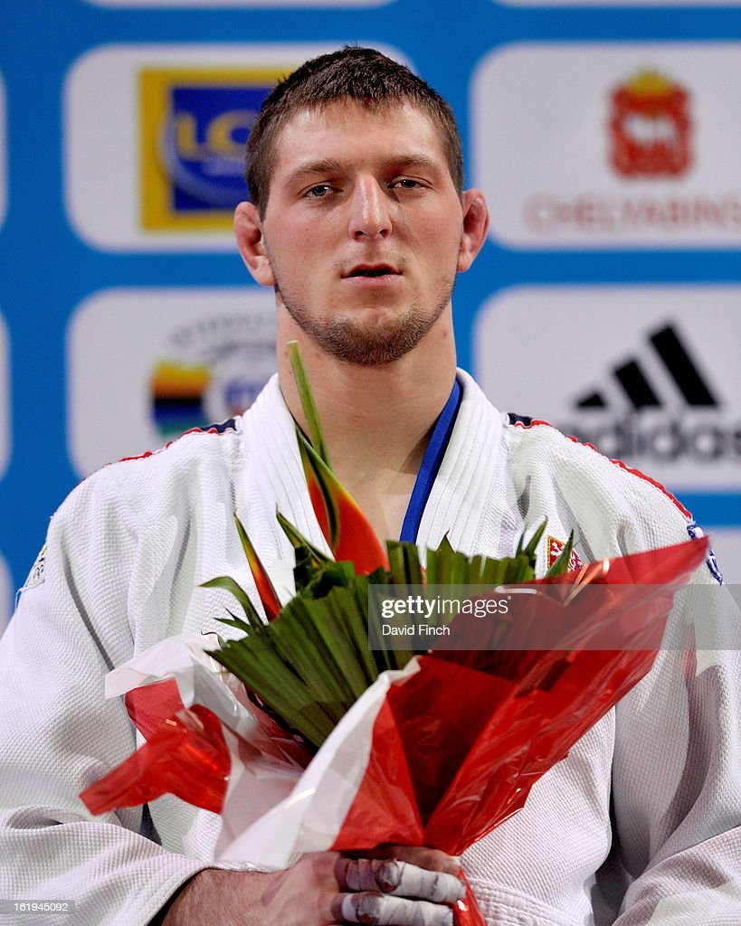 <a gi-track='captionPersonalityLinkClicked' href=/galleries/search?phrase=Lukas+Krpalek&family=editorial&specificpeople=6589582 ng-click='$event.stopPropagation()'>Lukas Krpalek</a> of the Czech Republic won the light heavyweight gold medal during the Paris Grand Slam on day 2, Sunday, February 10, 2013 at the Palais Omnisports de Paris, Bercy, Paris, France.