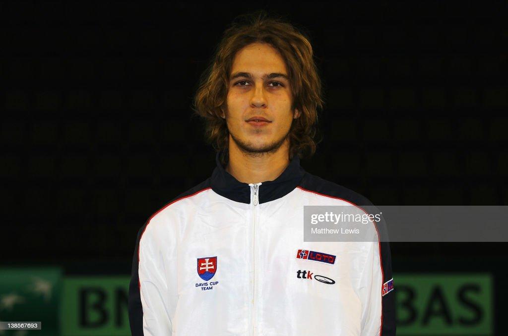 Great Britain v Slovak Republic - Davis Cup Previews