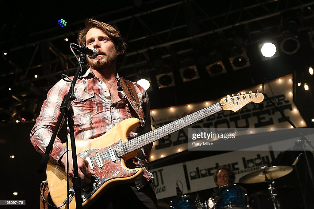 Lukas Nelson performs in concert during the Heartbreaker Banquet on March 19 2015 in Luck Texas