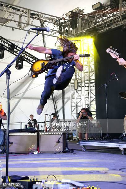 Lukas Nelson performs in concert with Promise of the Real during day 3 of the Bonnaroo Music Arts Festival on June 10 2017 in Manchester Tennessee
