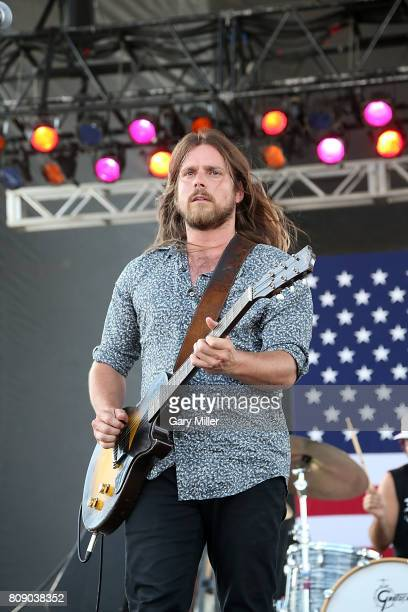 Lukas Nelson performs in concert with Promise of the Real during the annual Willie Nelson 4th of July Picnic at the Austin360 Amphitheater on July 4...