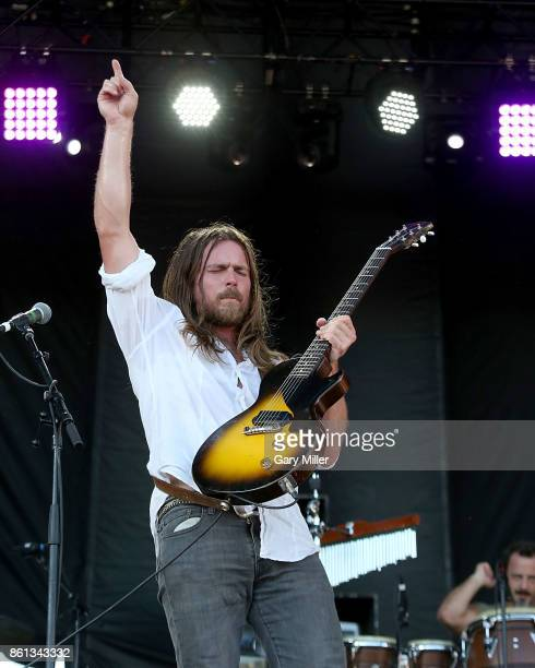 Lukas Nelson performs in concert with Promise of the Real during the second week of Austin City Limits Music Festival at Zilker Park on October 13...