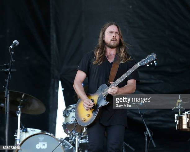Lukas Nelson performs in concert with Promise of the Real on the first day of week one of the Austin City Limits Music Festival at Zilker Park on...