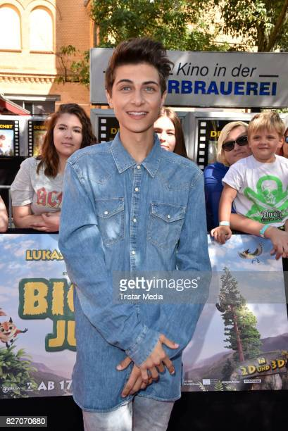 Lukas Rieger attends the 'Bigfoot Junior' premiere at Kino in der Kulturbrauerei on August 6 2017 in Berlin Germany