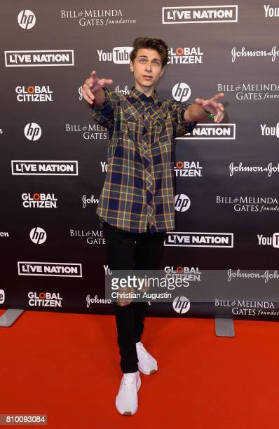 Lukas Rieger attends the Global Citizen Festival at the Barclaycard Arena on July 6 2017 in Hamburg Germany