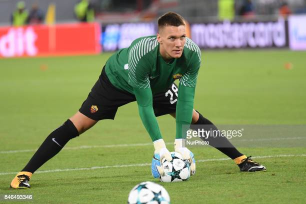 Lukasz Skorupski during the UEFA Champions League group C football match AS Roma vs Atletico Madrid FC at the Olympic Stadium in Rome on september 12...
