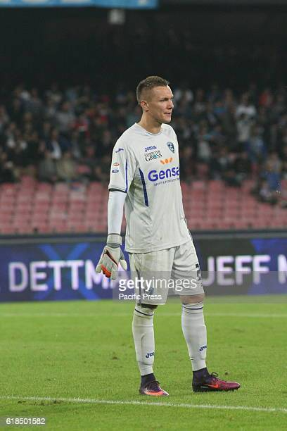 Lukasz Skorupski goalkeeper in action during soccer match between SSC Napoli and Empoli at San Paolo Stadium in Napoli Final result Napoli wins 20