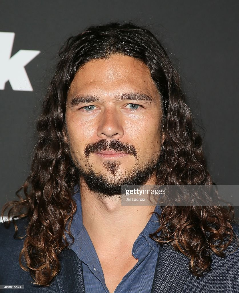 <a gi-track='captionPersonalityLinkClicked' href=/galleries/search?phrase=Luke+Arnold&family=editorial&specificpeople=5991385 ng-click='$event.stopPropagation()'>Luke Arnold</a> attends the STARZ' 'Blunt Talk' series premiere on August 10, 2015 in Los Angeles, California.