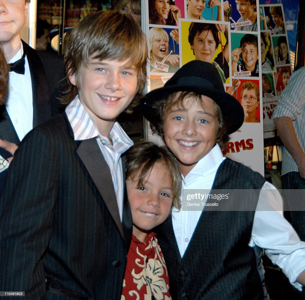 Luke Benward, Ty Panitz, And Ryan Malagarini During 'how To Eat Fried Worms