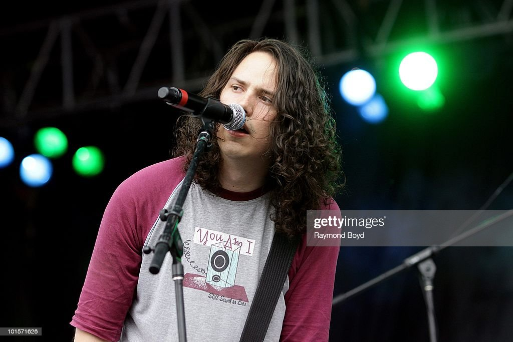 Luke Boerdam of Violent Soho performs at Columbus Crew Stadium in Columbus, Ohio on MAY
