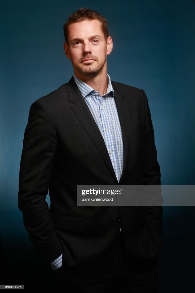 Luke Bould, Head of Commercial Marketing of Cricket Australia poses at the World Congress Of Sports Executive Portrait Studio on April 3, 2013 in Naples, Florida.
