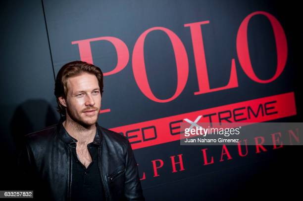 Luke Bracey attends the new Ralph Lauren Frangance presentation at Estudios Cenital on February 1 2017 in Madrid Spain