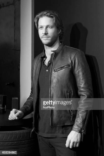 Luke Bracey attends the new Ralph Lauren Frangance presentation at Estudios Cenital on February 1 2017 in Madrid Spain