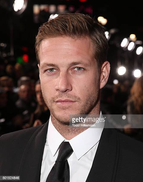 Luke Bracey attends the premiere of Warner Bros Pictures and Alcon Entertainment's 'Point Break' at TCL Chinese Theatre on December 15 2015 in...