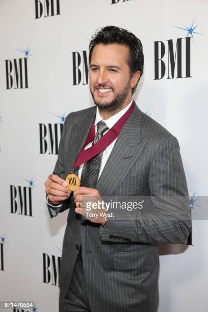 Luke Bryan attend the 65th Annual BMI Country awards on November 7 2017 in Nashville Tennessee