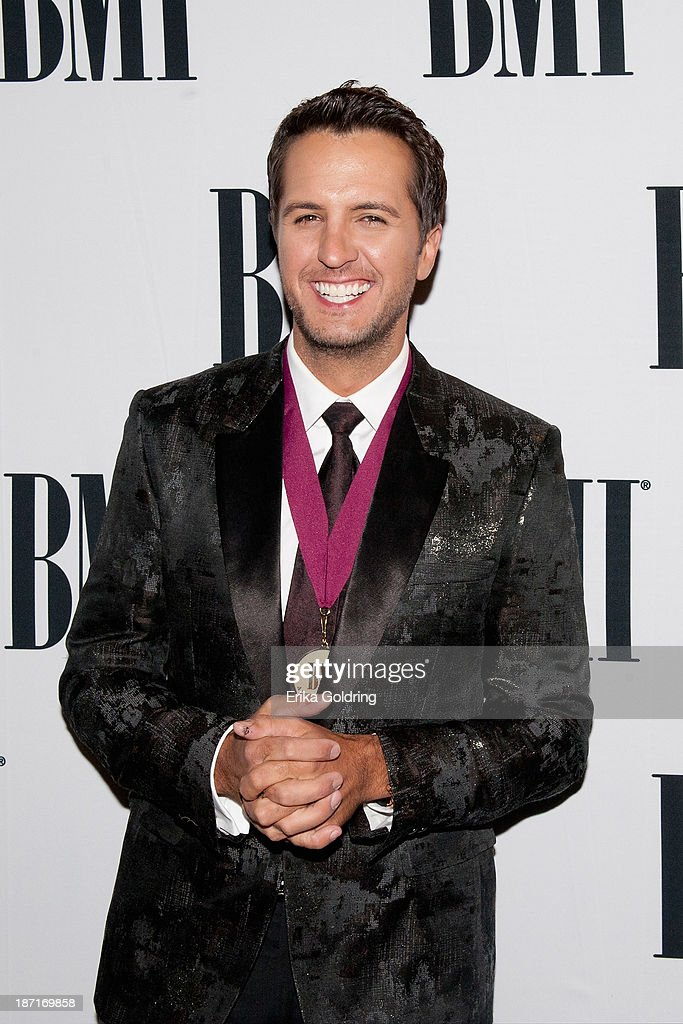 <a gi-track='captionPersonalityLinkClicked' href=/galleries/search?phrase=Luke+Bryan&family=editorial&specificpeople=4001956 ng-click='$event.stopPropagation()'>Luke Bryan</a> attends the 61st annual BMI Country awards on November 5, 2013 in Nashville, Tennessee.