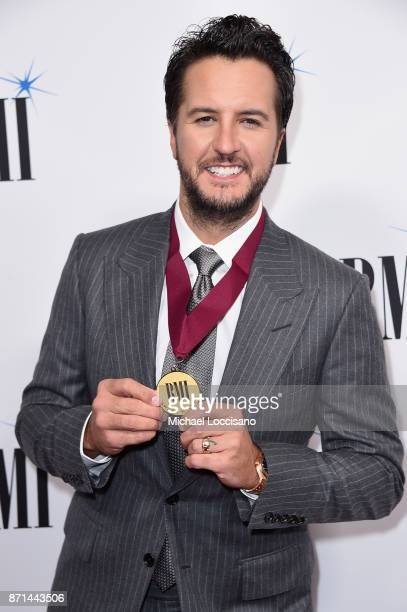 Luke Bryan attends the 65th Annual BMI Country awards on November 7 2017 in Nashville Tennessee