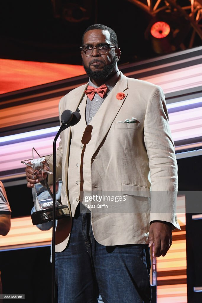 Luke Campbell accepts the 'I Am Hip Hop' award onstage during the BET Hip Hop Awards 2017 at The Fillmore Miami Beach at the Jackie Gleason Theater on October 6, 2017 in Miami Beach, Florida.