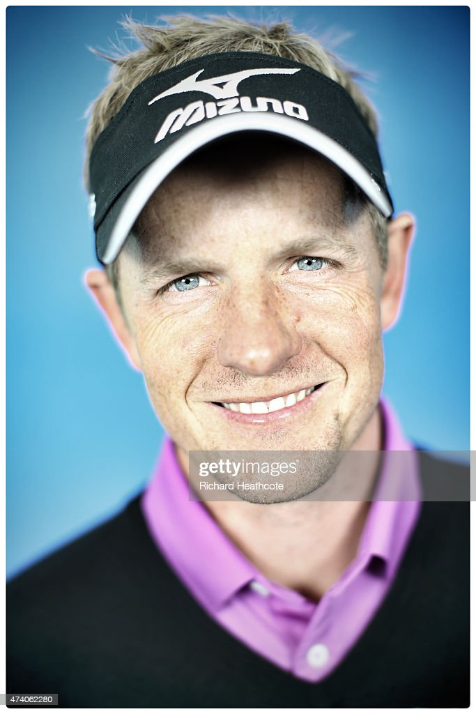 Luke Donald of England poses for a portrait during a practice day for the BMW PGA Championships at Wentworth on May 20, 2015 in Virginia Water, England.