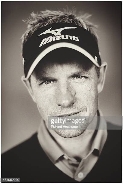 Luke Donald of England poses for a portrait during a practice day for the BMW PGA Championships at Wentworth on May 20 2015 in Virginia Water England