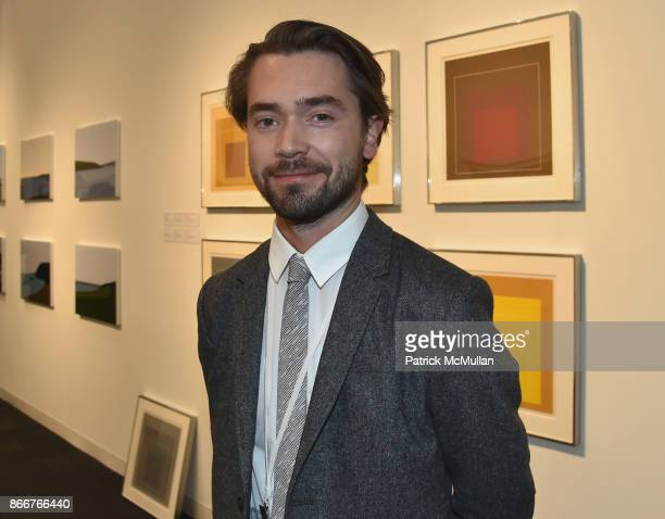 Luke Duncan attends the IFPDA Fine Art Print Fair Opening Preview at The Jacob K Javits Convention Center on October 25 2017 in New York City