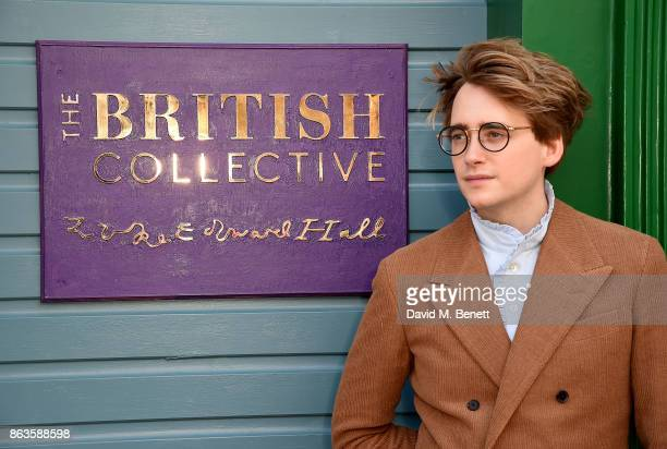 Luke Edward Hall attends the opening of the new Bicester Village and the launch of the British Collective at Bicester Village on October 20 2017 in...