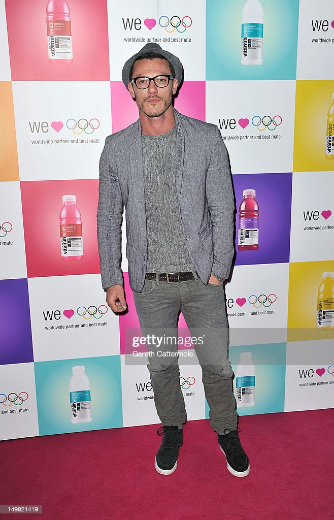 Luke Evans arrives as Glaceau vitaminwater presents 'Jessie J Live In London' at The Roundhouse on August 4, 2012 in London, England.