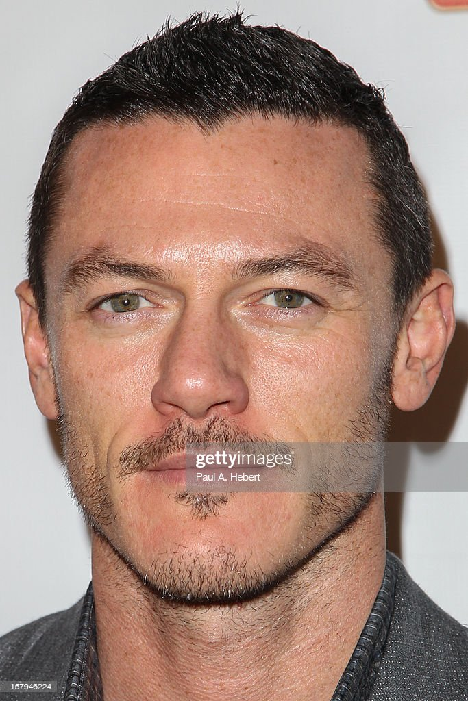 Luke Evans arrives at the March Of Dimes' Celebration Of Babies held at the Beverly Hills Hotel on December 7, 2012 in Beverly Hills, California.