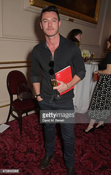 Luke Evans attends as Audi hosts the opening night performance of 'La Fille Mal Gardee' at The Royal Opera House on April 23 2015 in London England