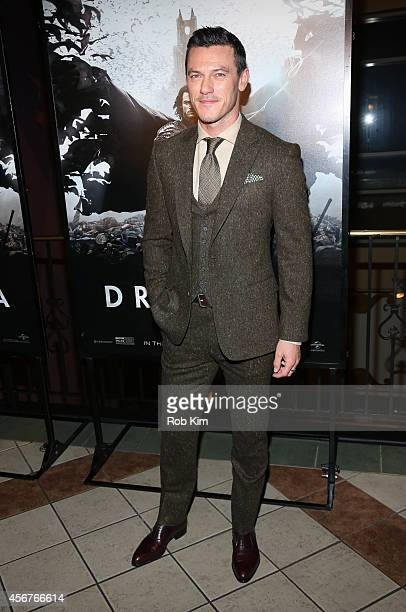 Luke Evans attends 'Dracula Untold' New York Premiere at AMC Loews 34th Street 14 theater on October 6 2014 in New York City