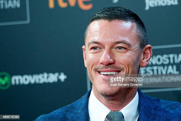 Luke Evans attends 'HighRise' premiere during 63rd San Sebastian Film Festival on September 22 2015 in San Sebastian Spain