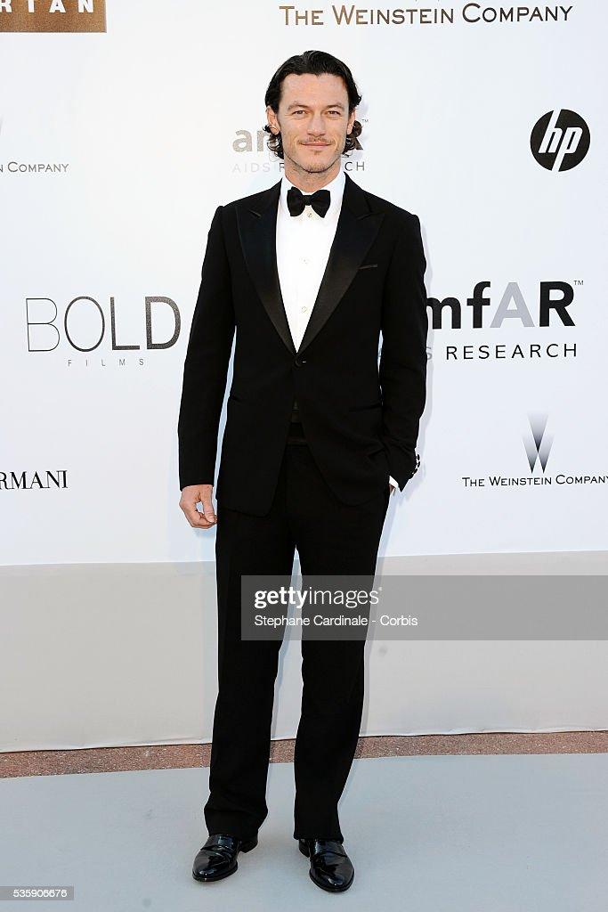 Luke Evans attends the '2010 amfAR's Cinema Against AIDS' Gala - Arrivals