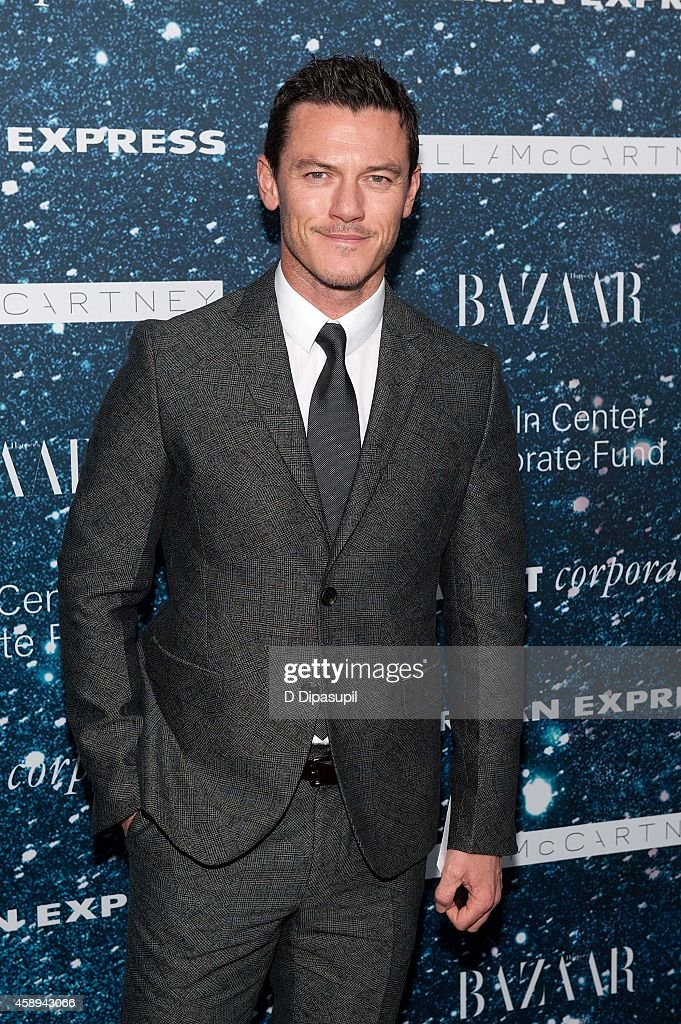 Luke Evans attends the 2014 Women's Leadership Award Honoring Stella McCartney at Alice Tully Hall at Lincoln Center on November 13, 2014 in New York City.