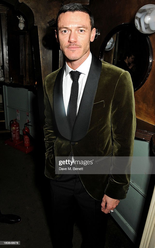 Luke Evans attends the 2nd Anniversary of The Box with Belvedere Vodka on February 6, 2013 in London, England.