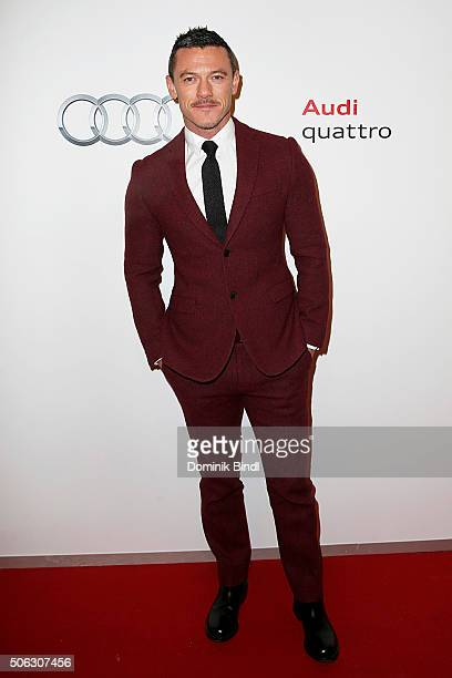 Luke Evans attends the Audi Night 2016 at Hotel zur Tenne on January 22 2016 in Kitzbuehel Austria
