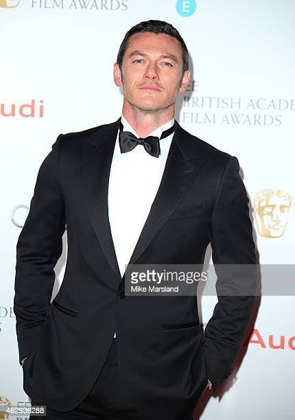 Luke Evans attends the EE British Academy Awards nominees party at Kensington Palace on February 7 2015 in London England