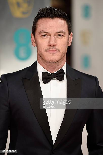 Luke Evans attends the EE British Academy Film Awards at The Royal Opera House on February 8 2015 in London England