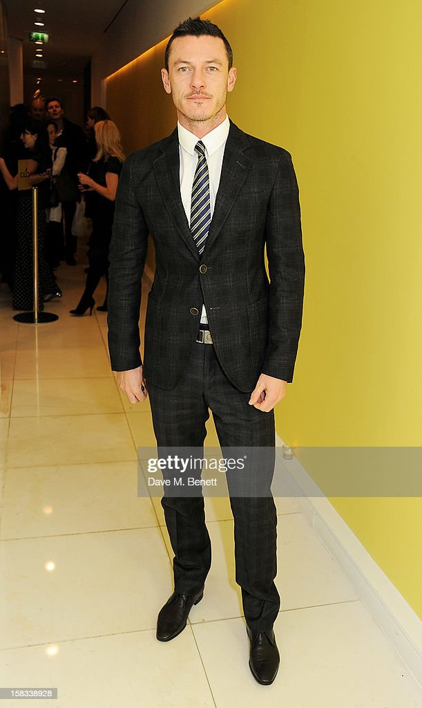 Luke Evans attends the English National Ballet Christmas Party at St Martins Lane Hotel on December 13, 2012 in London, England.