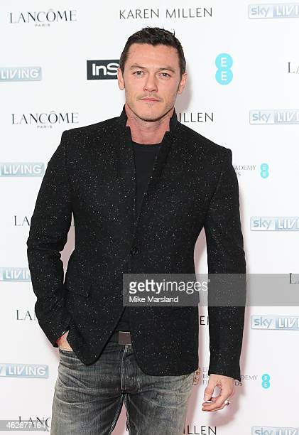 Luke Evans attends the InStyle The Best of British Talent PreBAFTA party at The Ace Hotel on February 2 2015 in London England