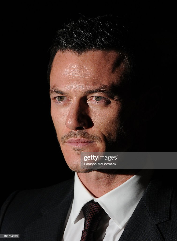 Luke Evans attends the London Evening Standard British Film Awards at the London Film Museum on February 4, 2013 in London, England.