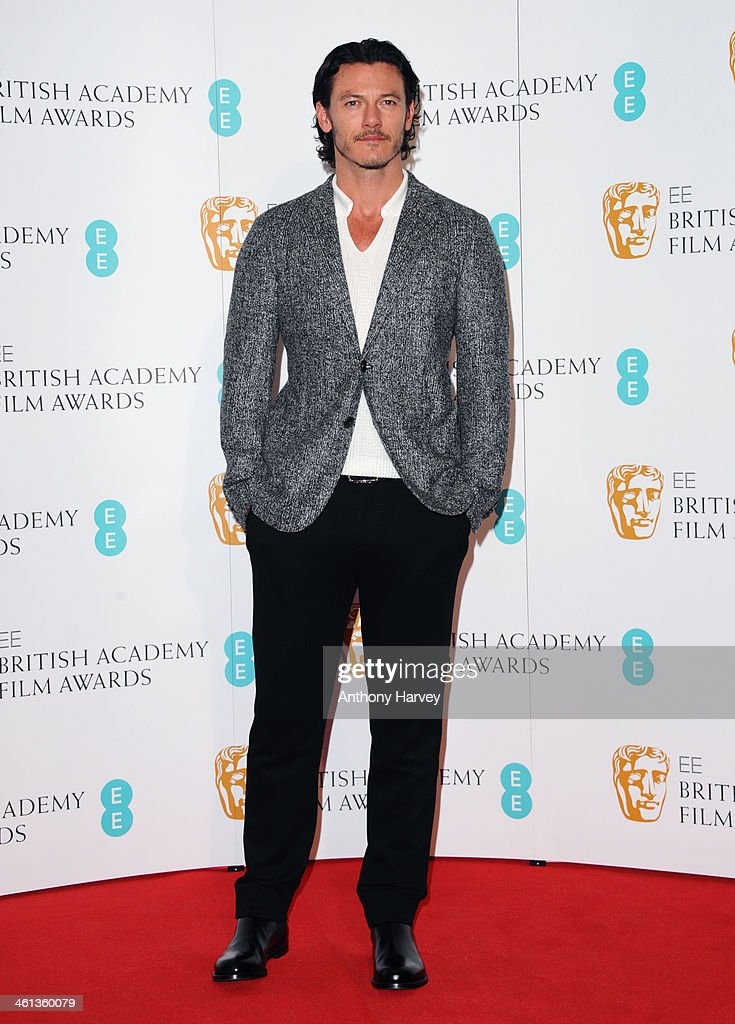 Luke Evans attends the nominations photocall for the EE British Academy Film Awards at BAFTA on January 8, 2014 in London, England.