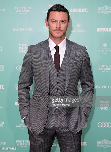Luke Evans attends The Old Vic Summer Gala at The Brewery on June 27 2016 in London England