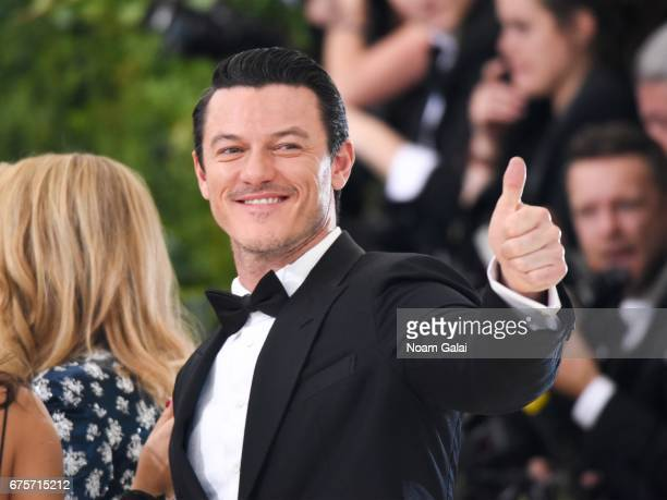 Luke Evans attends the 'Rei Kawakubo/Comme des Garcons Art Of The InBetween' Costume Institute Gala at Metropolitan Museum of Art on May 1 2017 in...