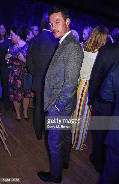 Luke Evans attends the Summer Gala for The Old Vic at The Brewery on June 27 2016 in London England