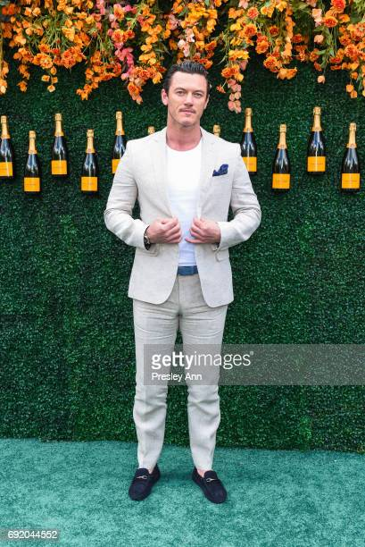Luke Evans attends The Tenth Annual Veuve Clicquot Polo Classic Arrivals at Liberty State Park on June 3 2017 in Jersey City New Jersey