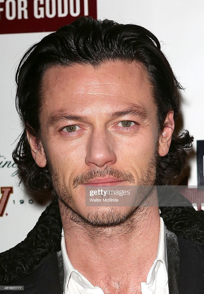 Luke Evans attends the 'Waiting For Godot' Opening Night at the Cort Theatre on November 24, 2013 in New York City.