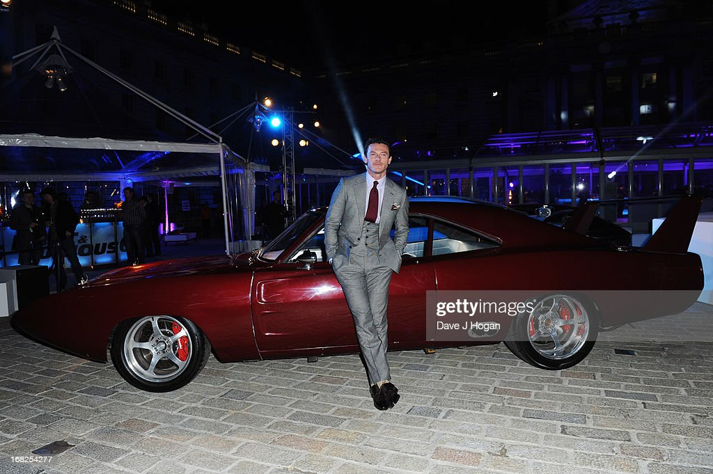 Luke Evans attends the world premiere after party of 'Fast And Furious 6' at Somerset House on May 7, 2013 in London, England.